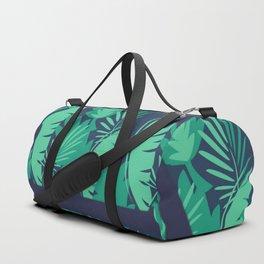 Anchor Tropical Palm Leaf Duffle Bag