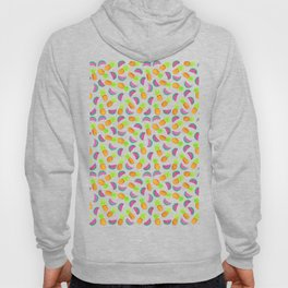 Colorful hand drawn fruit pattern Hoody