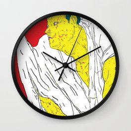 DEADLY DANCE #4 Wall Clock