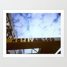 Hotel am Zoo Berlin Art Print
