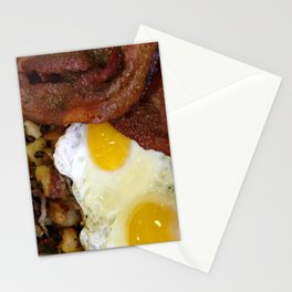 Bacon & Eggs Stationery Cards