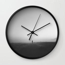 Found Wall Clock