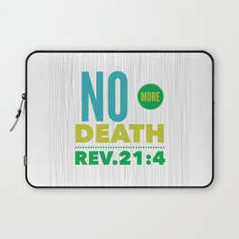 No More Death Laptop Sleeve