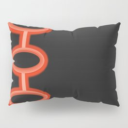 Neon Circles Pillow Sham
