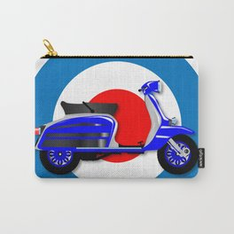 60s Scooter and UK Symbol Carry-All Pouch