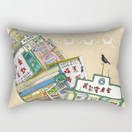 old houses Rectangular Pillow