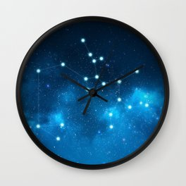 Sagittarius: Astrological Art Wall Clock