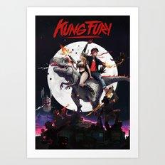 Kung Fury - fan poster Art Print