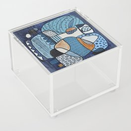 Scratched Below the Surface Acrylic Box