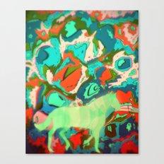 Horse Collaboration Canvas Print