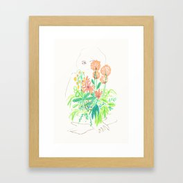 Flower flower Framed Art Print
