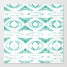 BOHEMIAN MINT PATTERN Canvas Print