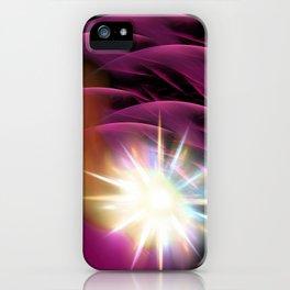 Meteor Burst iPhone Case