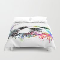 shih tzu Duvet Covers featuring Shih TZU  by PhotosbySN