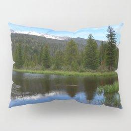 Peaceful Beaver Ponds View Pillow Sham