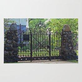 Old West End Edward D Libbey House's Gate I Rug