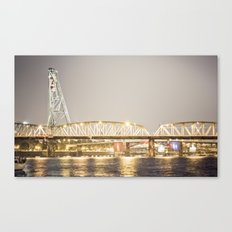 Hawthorne Bridge, Portland Oregon Canvas Print