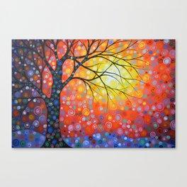 Joyous Sky Canvas Print