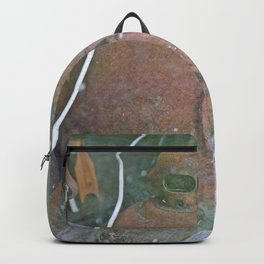 Antique Road Flare in Barn Window Backpack