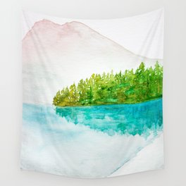 Bright reflections Wall Tapestry