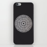 spiritual iPhone & iPod Skins featuring Spiritual Mandala by msimona