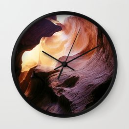 Inside Antelope Canyon Wall Clock