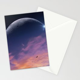 luna oceana Stationery Cards