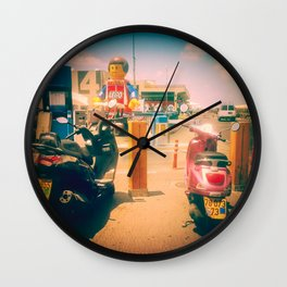 A Meeting Wall Clock