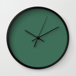 Foliage Green Wall Clock