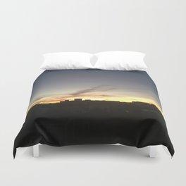 Sunset Brooklyn Duvet Cover