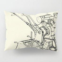 Rotary Soil Tiller-1949 Pillow Sham