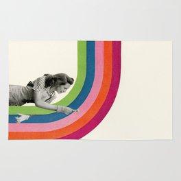 Paint a Rainbow Rug
