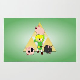Wind Waker Pigs Rug