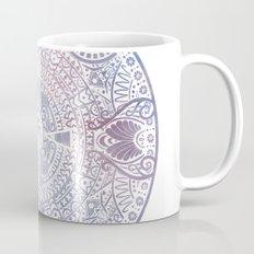 deer mandala (white) Mug