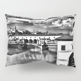 Ponte Vecchio, Florence, Italy Pillow Sham