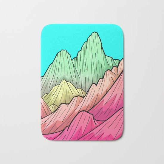 Candy Colour Mounts Bath Mat