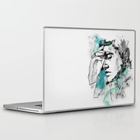 dean winchester Laptop & iPad Skins featuring Dean Winchester | Skin by lostinroadsuntravelled
