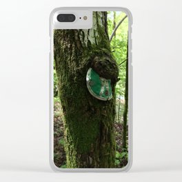 Trailhead Overgrowth Clear iPhone Case