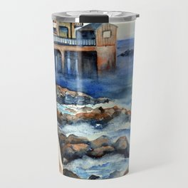 Walking with Steinbeck on Cannery Row Travel Mug