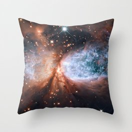 Star-forming region S106 Throw Pillow
