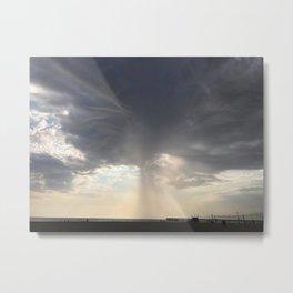 Venice Storm Metal Print