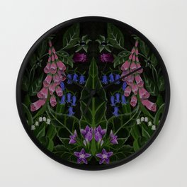 The Poison Garden - Mandragora Wall Clock