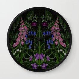 The Poison Garden - Mandragora Wall Clock