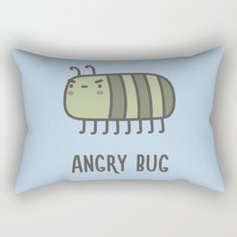 Angry Bug Rectangular Pillow