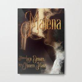 Malena Metal Print