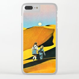 Walk On My Dreams Clear iPhone Case
