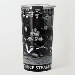 1928 National Football World Champion Providence Steam Roller Team Photo Travel Mug