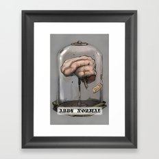 Abby Normal Framed Art Print