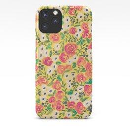 Minnie (Painted Flower Pattern) iPhone Case