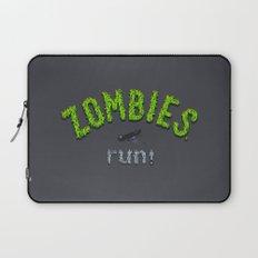 ZOMBIES, run! Laptop Sleeve